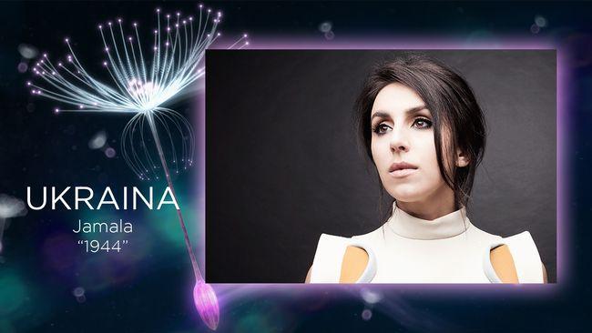 Jamala representerar Ukraina i Eurovision Song Contest 2016.