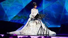 Petra Mede i Eurovision 2013.