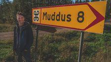 På väg mot Muddus.