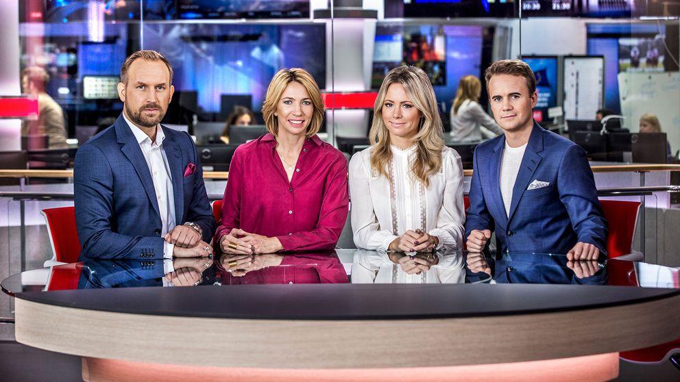 Karin Magnusson, André Pops, Carolina Neurath och Pelle Nilsson.