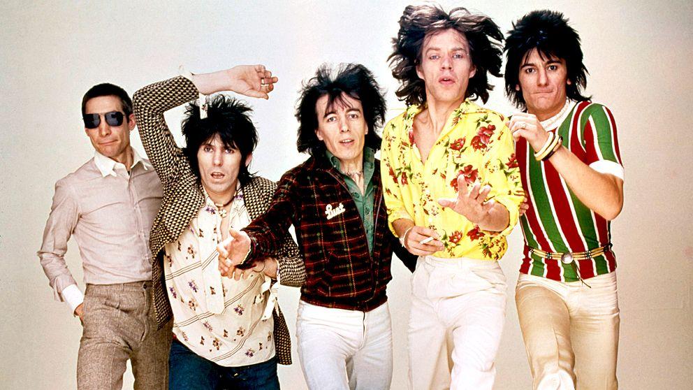 Rolling Stones på 70-talet.