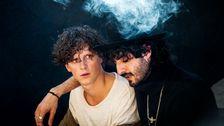 """Adam Pålsson och Armand Mirpour i """"Boys""""."""