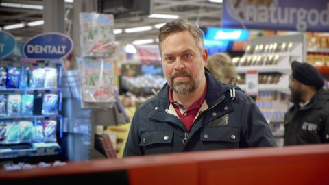 Mathias i affär