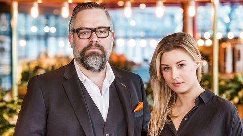 Mathias Andersson och Sanne Olsson.