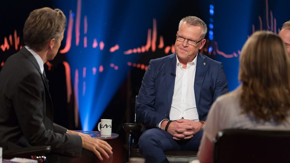 Janne Andersson gästar Skavlan