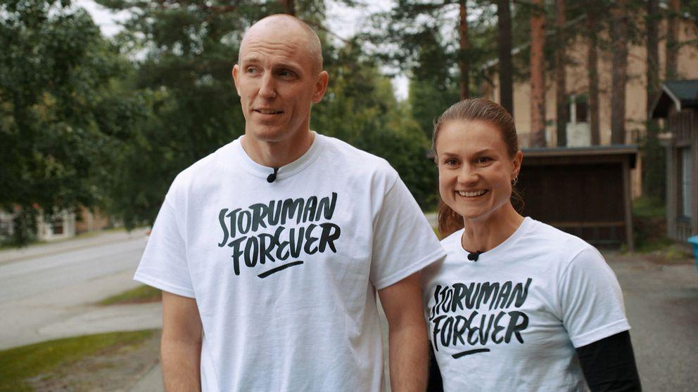 Björn Ferry och Heidi Anderssoni Storuman forever.