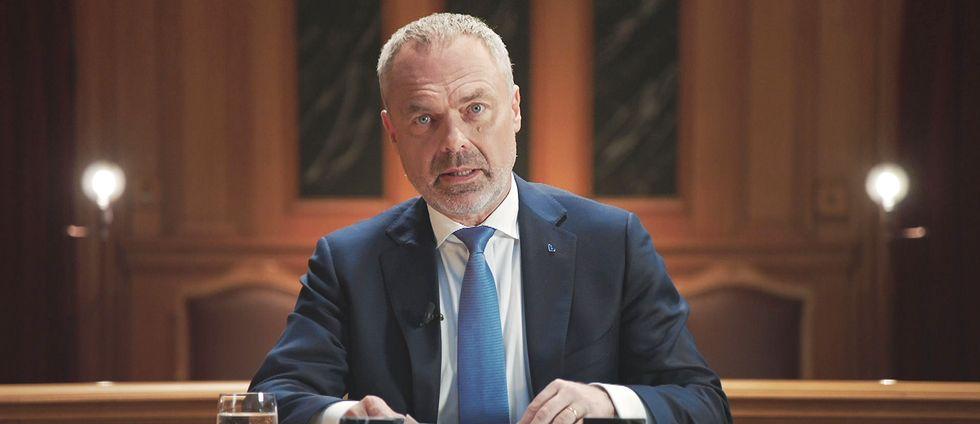 Jan Björklund (L) i Tal till nationen