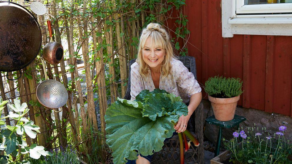 Lisa Lemke, programledare för Timjan, tupp & tårta.