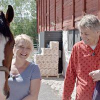 Lars Lerin och Helena Bergström