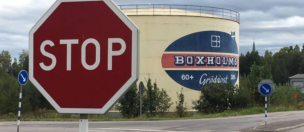 ostcisternen i Boxholm