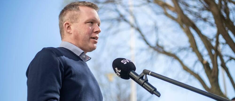 Svenska ishockeyförbundets ordföraden Anders Larsson.