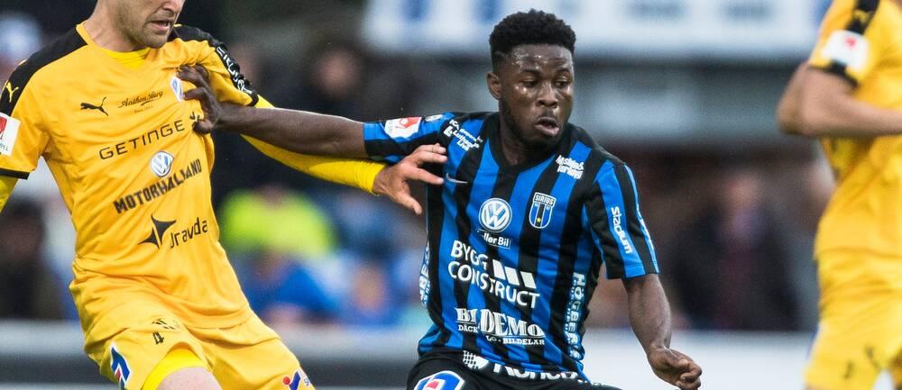 Efter tre års tvist får Sirius rätt i Skiljenämnden gällande Kingsley Sarfos övergång till Malmö FF. Arkivbild.