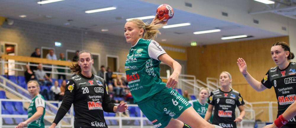 Ellen Voutilainen gjorde två mål för Skuru mot Kristianstad.