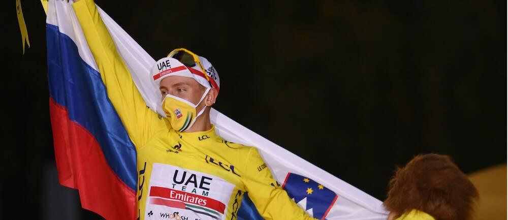 Tadej Pogacar vann Tour de France.