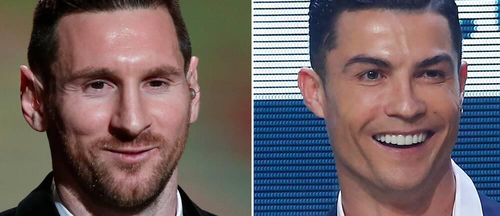 Varken Lionel Messi eller Cristiano Ronaldo kan i år få pris som Europas bästa fotbollsspelare.