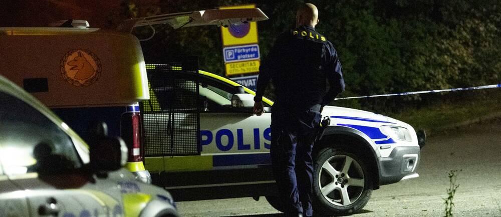 En skottlossning har inträffat i Borås.