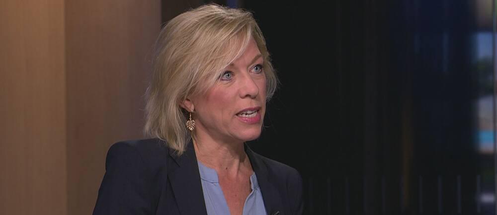 SR:s USA-kommentator Ginna Lindberg