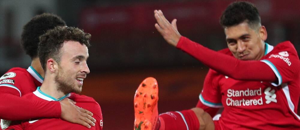Diego Jota och Roberto Firminos Liverpool vann mot Sheffield United.