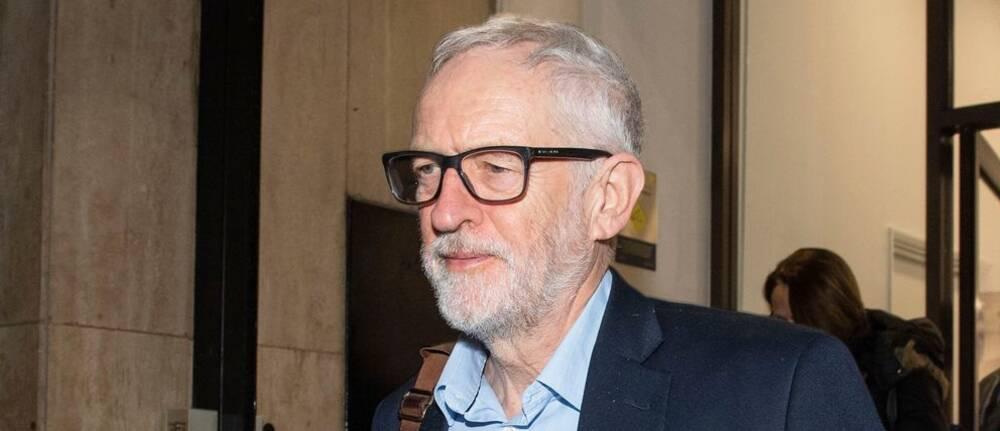 Den tidigare Labour-ledaren Jeremy Corbyn.