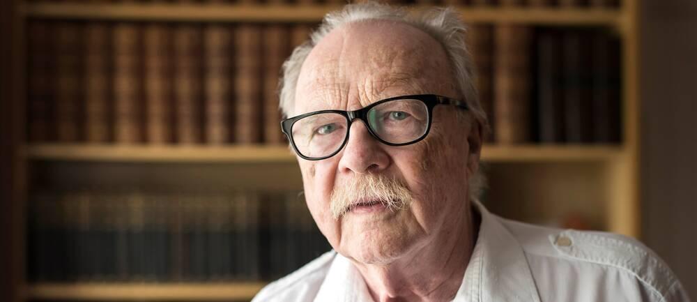 Arkivbild. Författaren och debattören Jan Myrdal blev 93 år gammal.