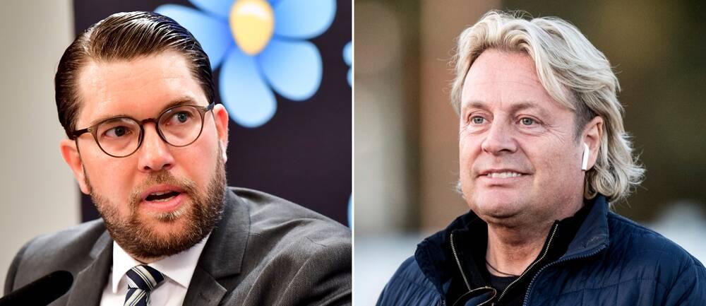 Jimmie Åkesson och Runar Sögaard.