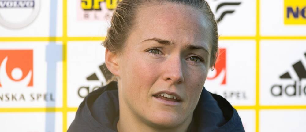 Fotbollslivet leker för Magdalena Eriksson.