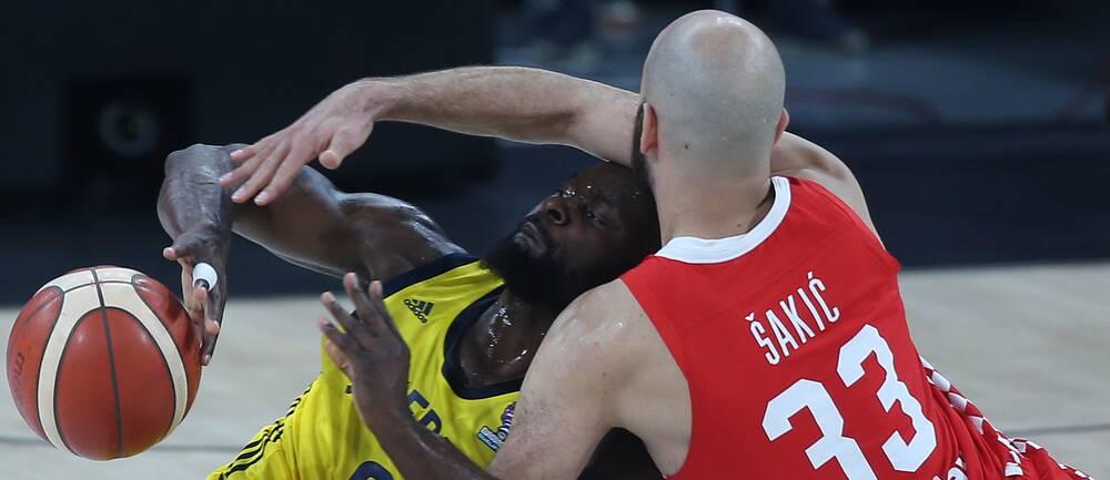 Thomas Massambas Sverige förlorade klart mot Zeljko Sakics Kroatien.