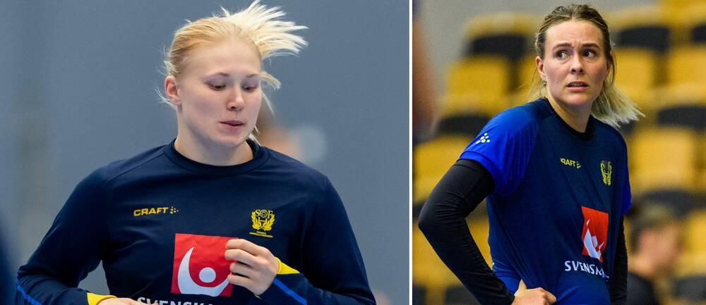 Isabelle Andersson och Johanna Westberg tvingas lämna den svenska EM-truppen.