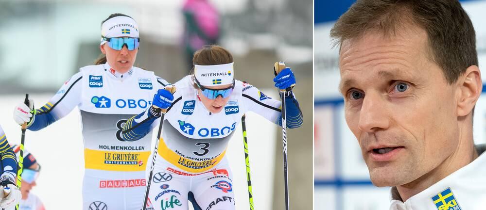 Svenska skidlandslaget och Daniel Fåhraeus