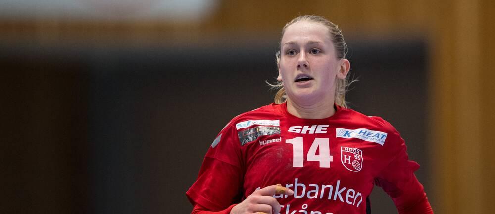 Höörs Emma Lindqvist gjorde sex mål mot Önnered.