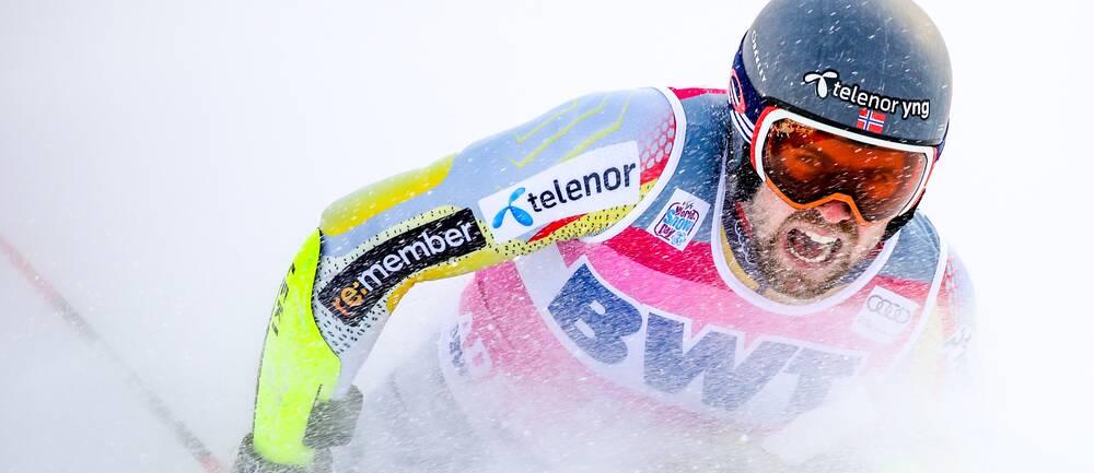 Alpinstjärnan Aleksander Aamodt Kilde har skadat sig på träning.