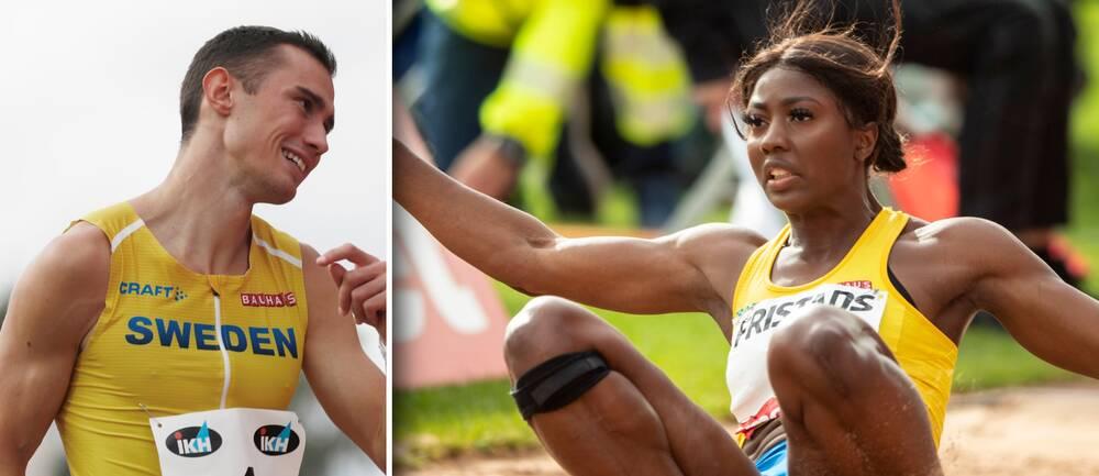 Thobias Montler och Khaddi Sagnia hoppas på guld i EM i mars.