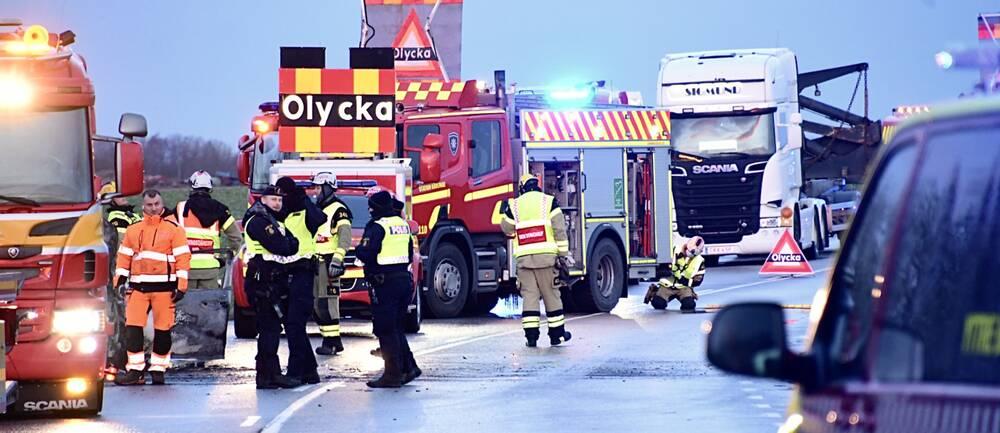Räddningstjänst, Kävlinge, trafikolycka.