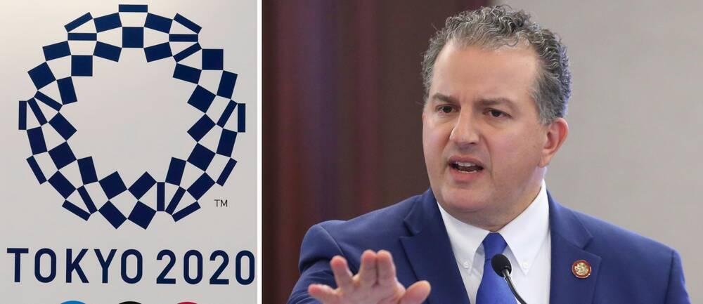 Floridas finansdirektör Jimmy Patronis vill att Florida ska ta över OS om Tokyo hoppar av.