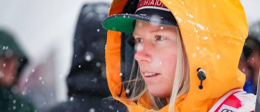Sandra Näslund går en kamp mot klockan.