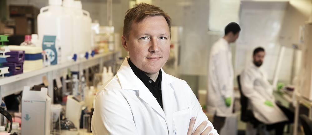 Petter Brodin, docent i immunologi och barnläkare på Karolinska Institutet. Arkivbild.