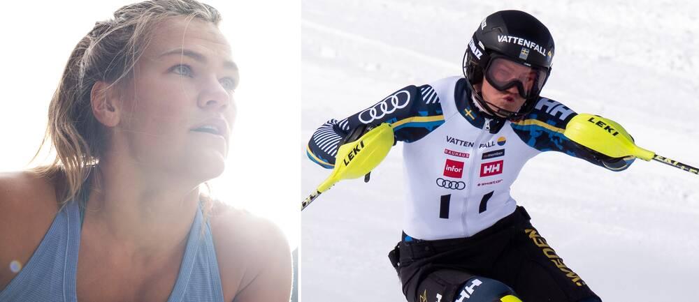 Anna Swenn Larsson har haft en tuff säsong med skada och coronasmitta.