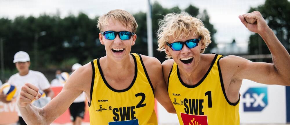 Jonatan Hellvig och David Åhman, arkivbild.