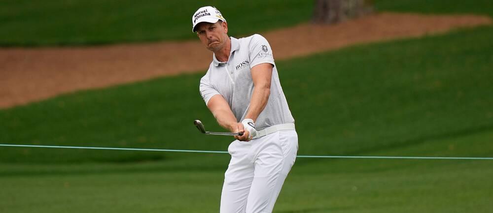 Henrik Stenson vid US Masters 2021
