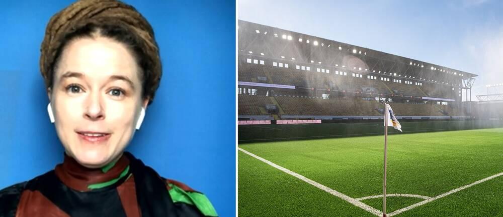 Amanda Lind gästade Helgstudion