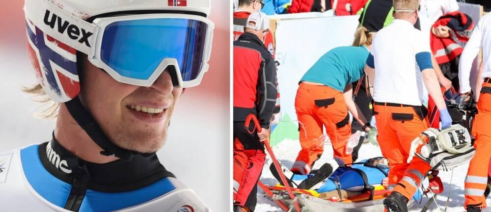 Daniel-André Tande kraschade illa i Planica i mars men blir nu allt bättre.
