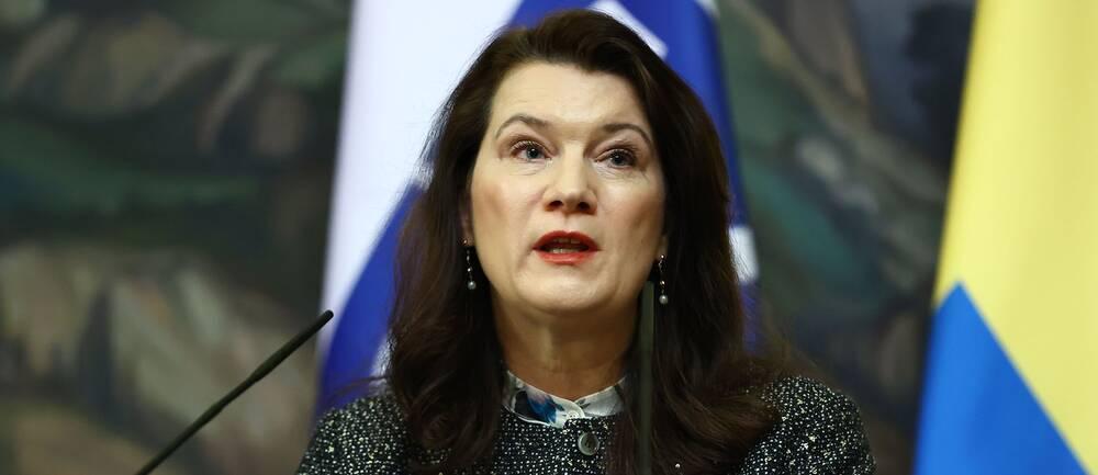Utrikesminister och OSSE-ordföranden Ann Linde (S).