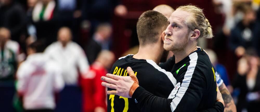 """Handbollsmålvakten Mikael """"Äpplet"""" Appelgren är tillbaka på planen."""