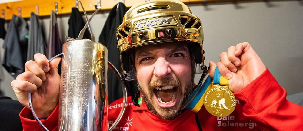 Hans Andersson har åtta SM-guld med Edsbyn.