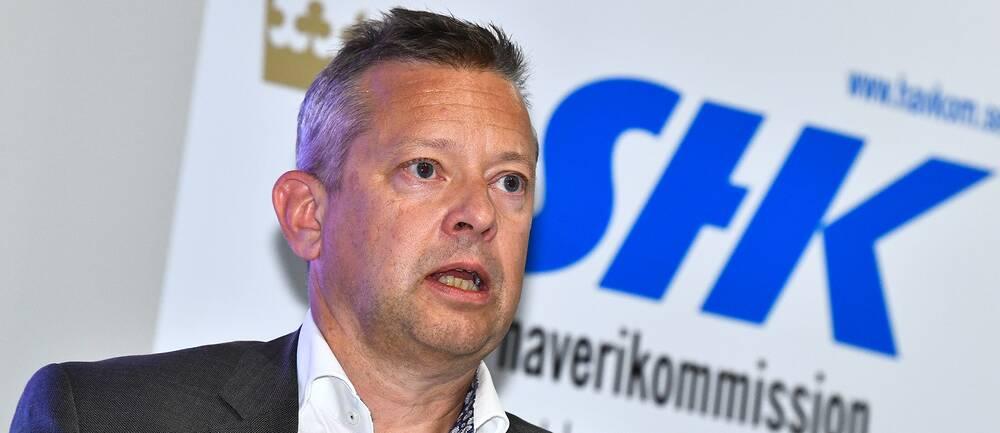 Jonas Bäckstrand, utredningsordförande och ställföreträdande generaldirektör på Statens haverikommission.