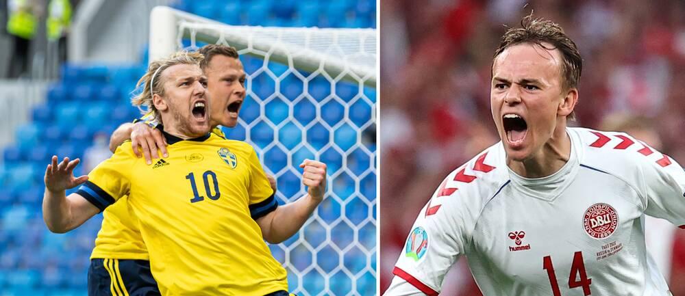 Sverige är klart för EM-åttondel – efter Danmarks islossning mot Ryssland.