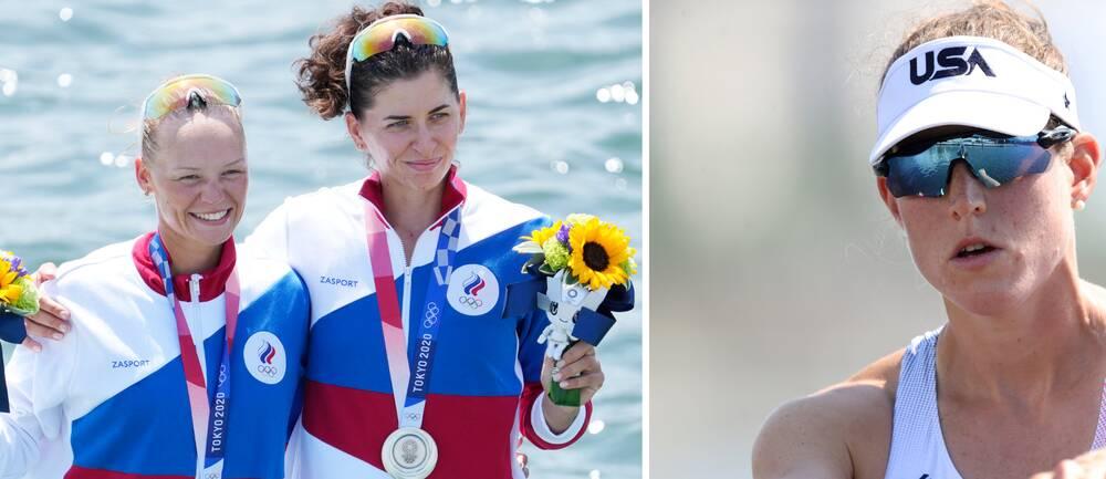 Megan Kalmoe är kritisk till att ryska idrottare får vara med i OS.
