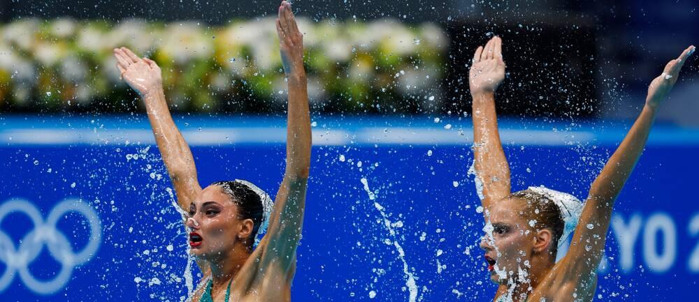 Maria Elli Lela Alzigkouzi Kominea och Evangelia Papazoglous grekiska lag tvingas dra sig ur OS.