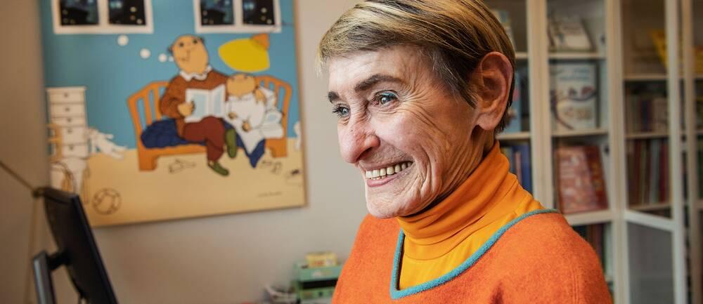 Gunilla Bergström skapade älskade figurer som Alfons Åberg, Bill och Bolla och Milla.