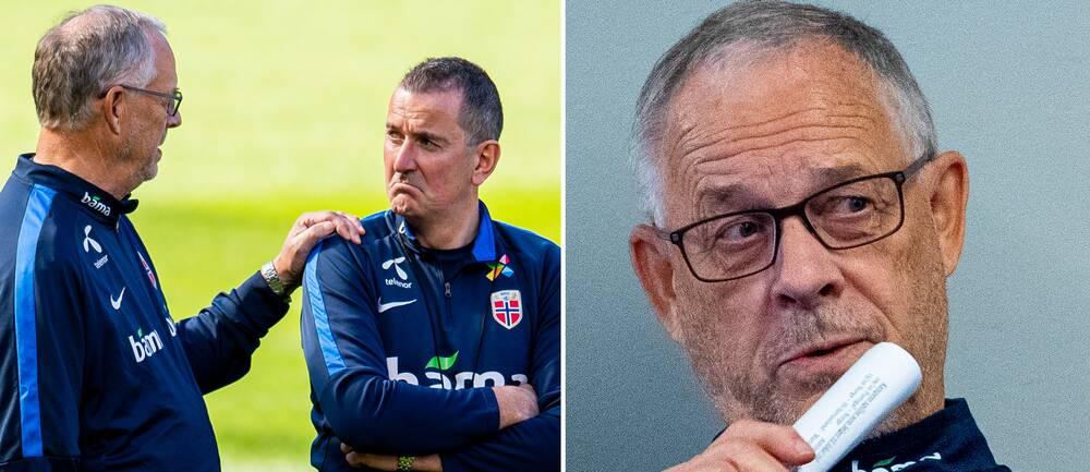 Östersunds tränare Per Joar Hansen tar hjälp av Lars Lagerbäck.